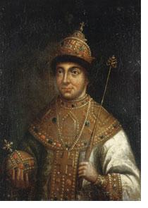 Царь Феодор III Алексеевич
